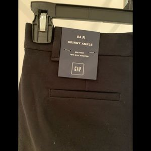 Black GAP trousers new with tags size 4 R